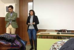 Charla sobre política y la Unión Europea en el  C.I.P ETI Tudela