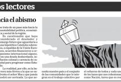 """Opinión: """"Referéndum hacia el abismo"""""""