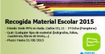Recogida Material Escolar 2015